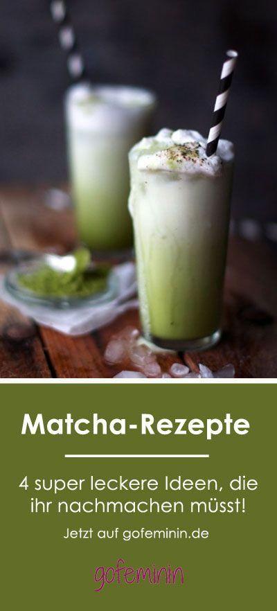 Wow Die Sehen Super Aus Matcha Rezepte Rezepte Gruner Tee Rezepte