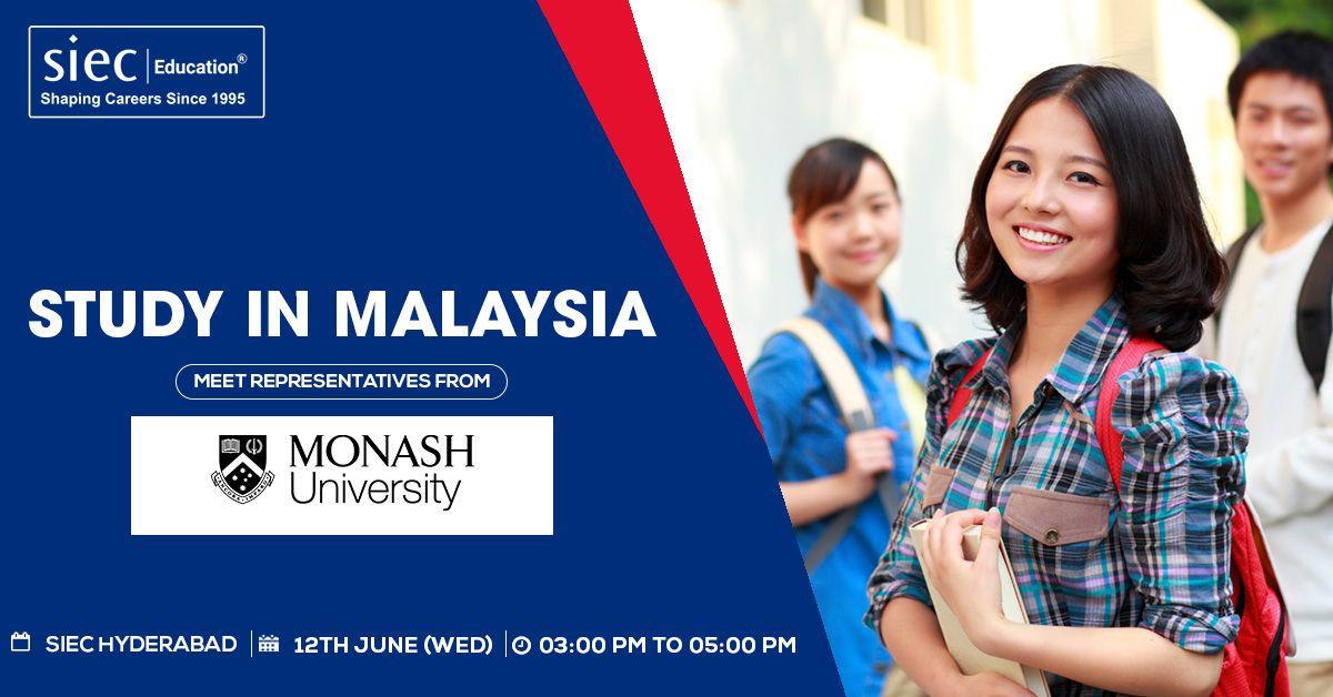 Meet Representatives from Monash University, Malaysia