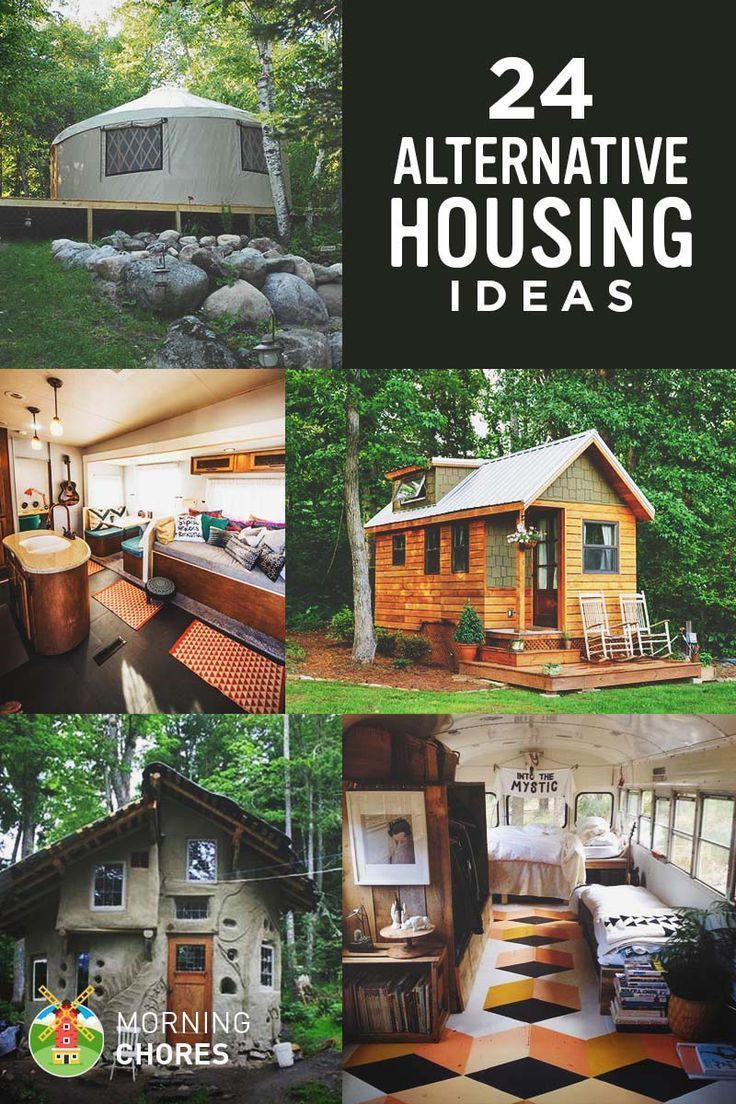 24 Alternative Housing Ideas