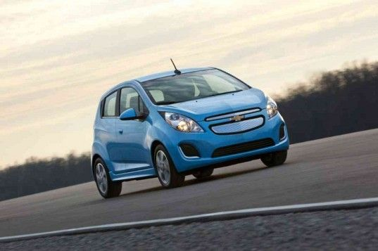 With A 119 Mpge Rating The 2014 Chevy Spark Ev Is The Most