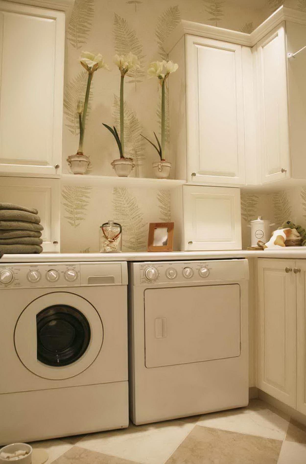 Must Know 33 Vintage Laundry Room Decoration Ideas Vintage