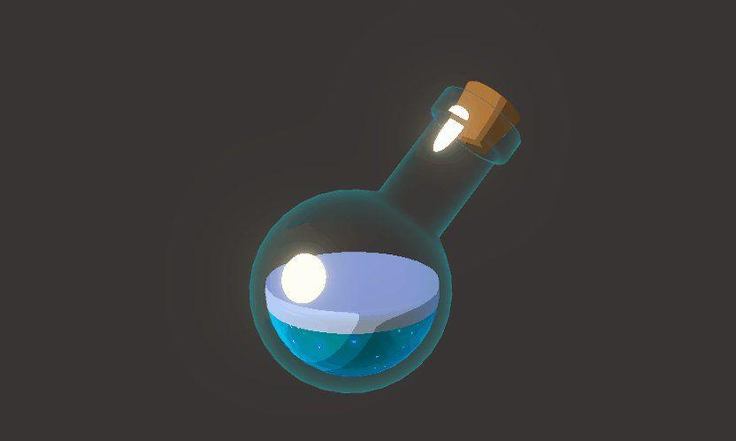 Studies and experiments | VFX Ref | Bottle, Game dev