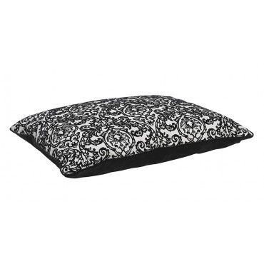 Bowsers Designer Rectangle Bed With Microvelvet Fabric