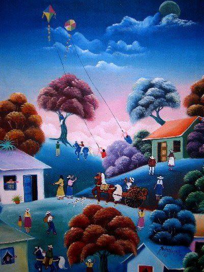 pinturas al oleo de paisajes colombianos - Buscar con Google