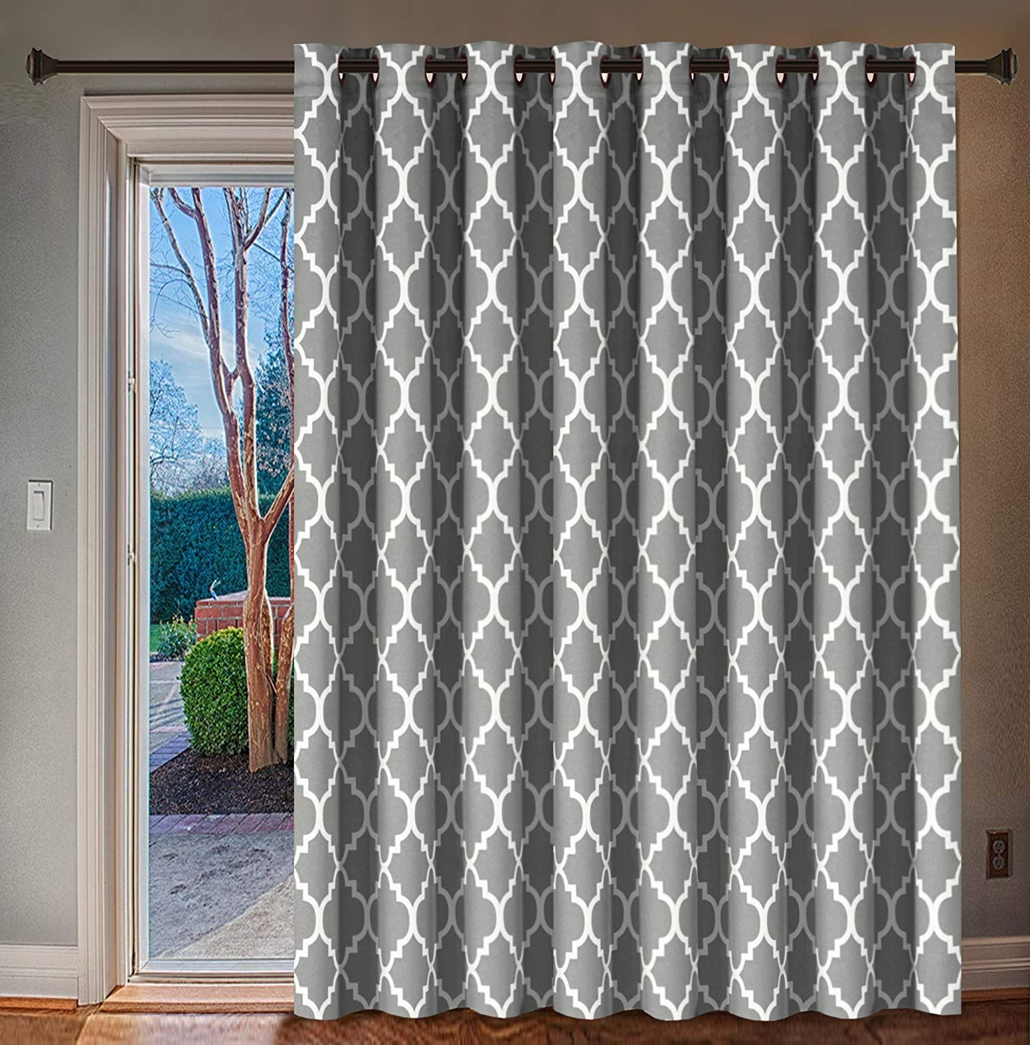H Versailtex Blackout Printed Curtains Extra Long And Wide Thermal