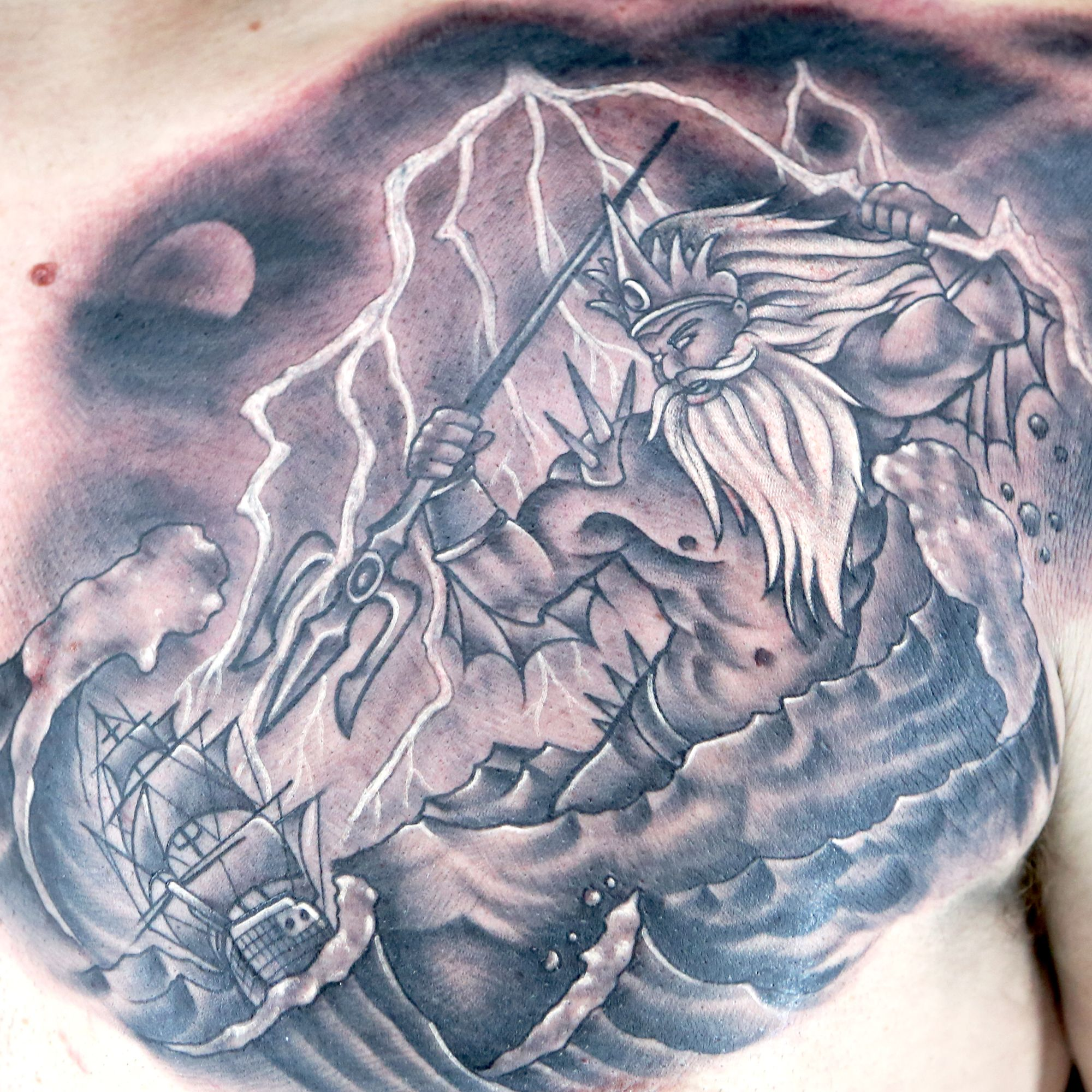 Airplane tattoo designs bodysstyle - Check Out This High Res Photo Of Tyler Nolan S Tattoo From The Neptune Episode Of Ink