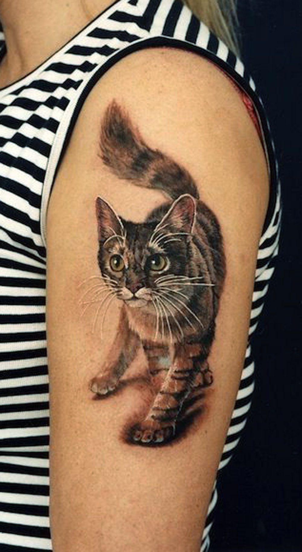 20 Cute Simple Cat Tattoo Ideas For Kitty Lovers Cat Tattoo Designs Cat Lover Tattoo Cat Tattoo