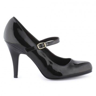 Escarpins noirs pour Femme : Escarpins Les Petites Chaudières - 39,00€