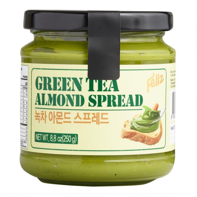 Photo of Feliz Green Tea Almond Spread – v1