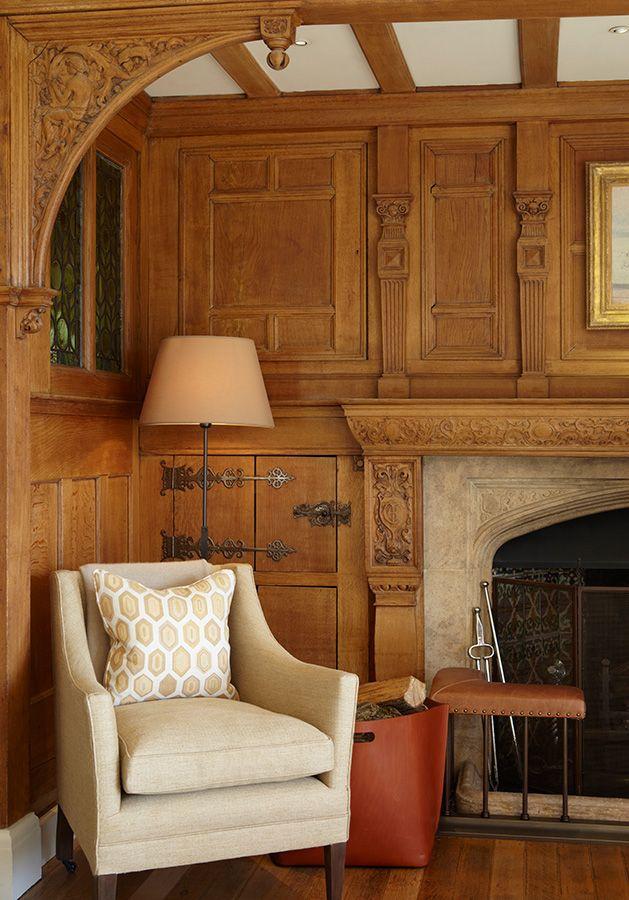 English Paneled Room: INTERIOR DESIGN ∙ LONDON HOUSES ∙ Hampstead