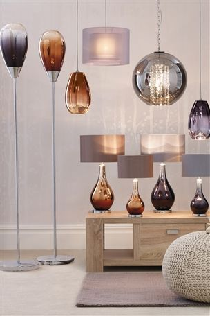 Next Ombre Floor Lamp Pendant Lamps And Table Lamps From The Next