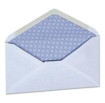 Universal® Security Envelope, 3 5/8 x 6 1/2, White, 250/Box