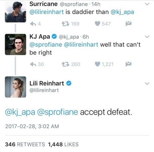Mar 2017. Since Cole Sprouse posted a photo of Lili Reinhart, Riverdale fans have.