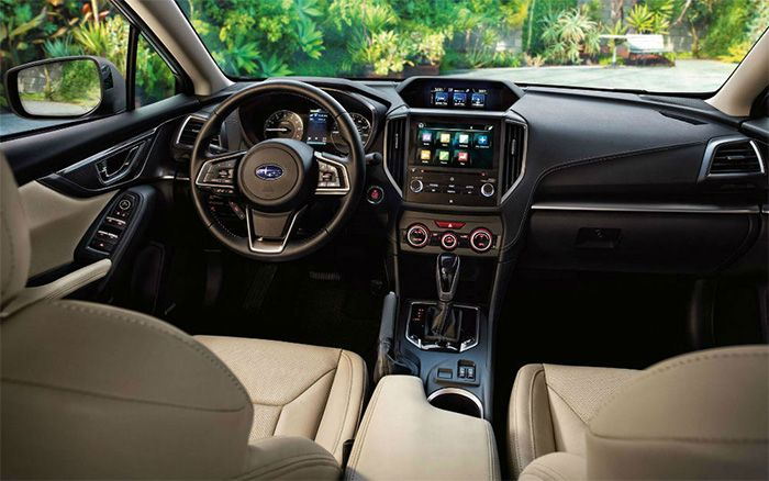 2018 Subaru Outback Interior Design