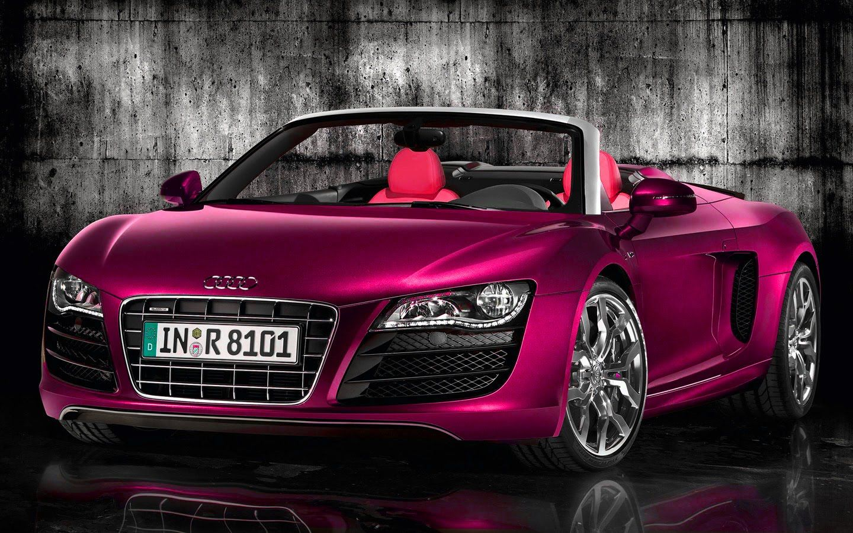 Audi R8 Spyder Pink Car Release Date Amp Reviews Audi Pinterest Audi R8 Audi And Cars