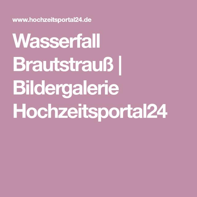 Wasserfall Brautstrauß | Bildergalerie Hochzeitsportal24