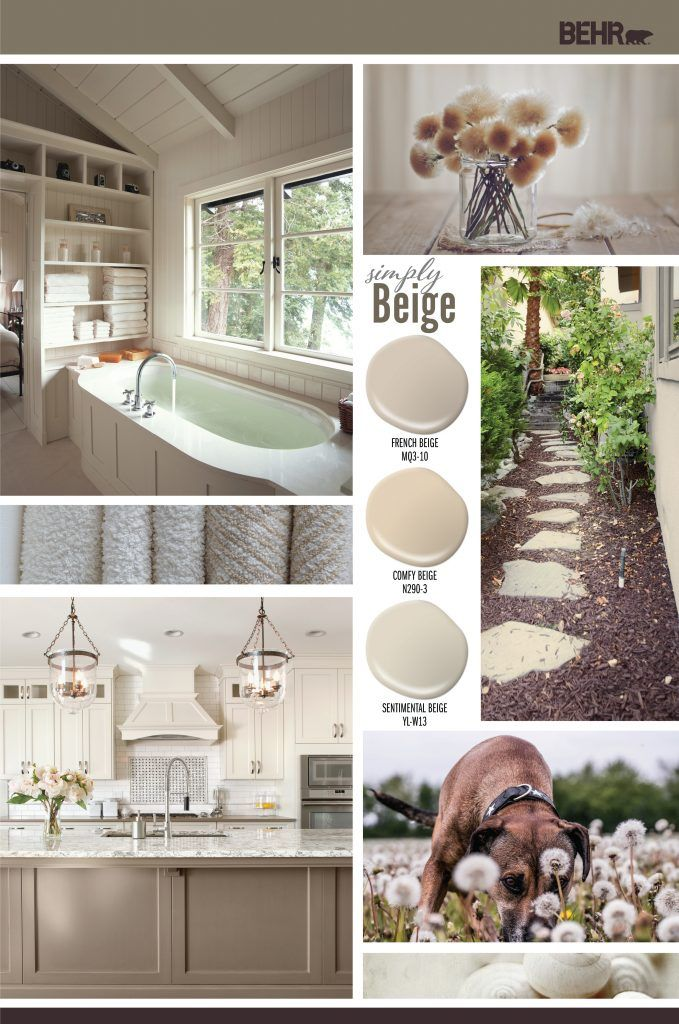 simply beige house color palettes paint colors for home on behr paint colors interior id=81515
