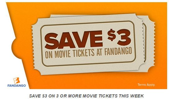 fandango movie coupons