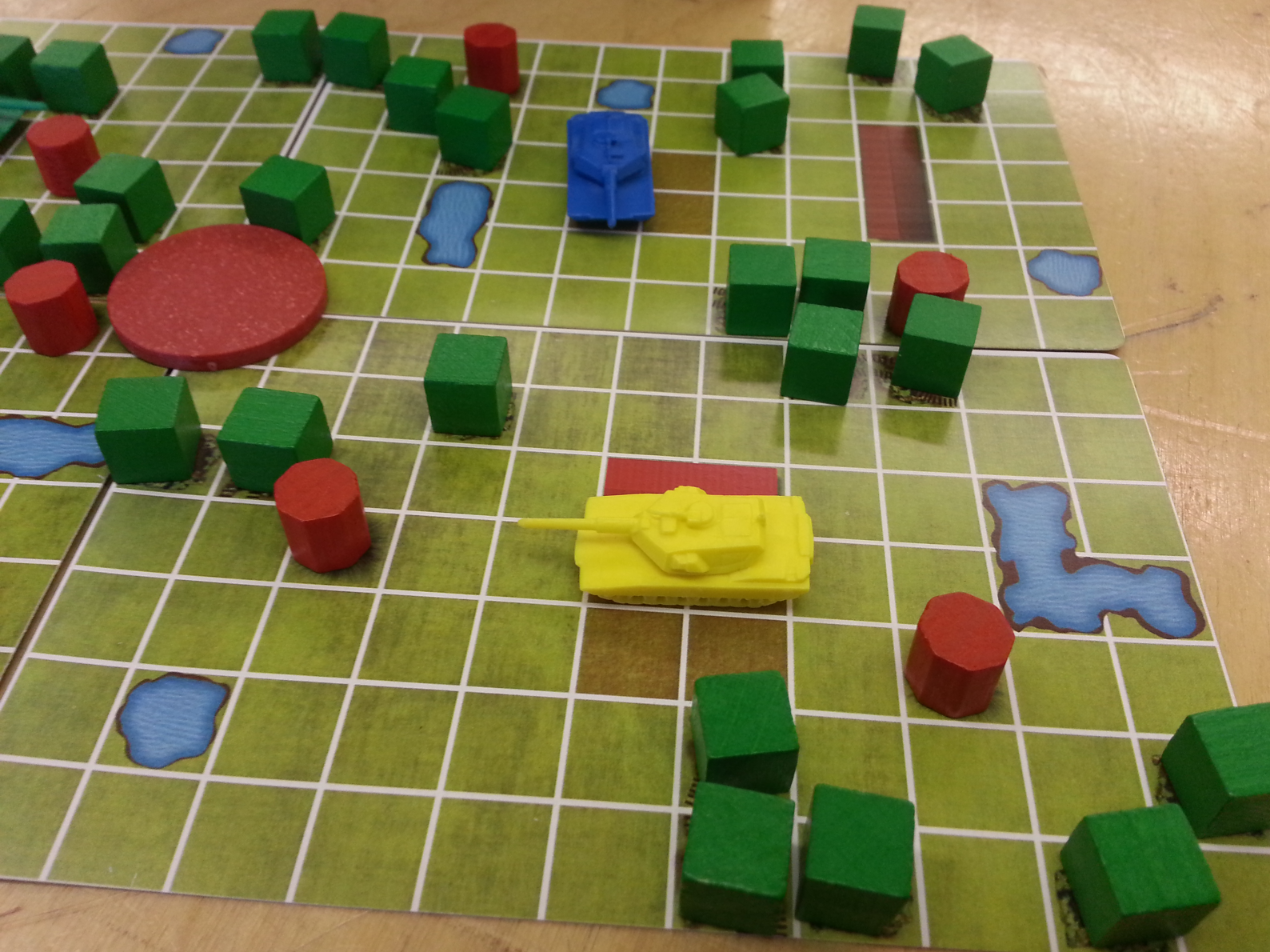 Tuesday Night Tanks is a fast paced, diceless combat game