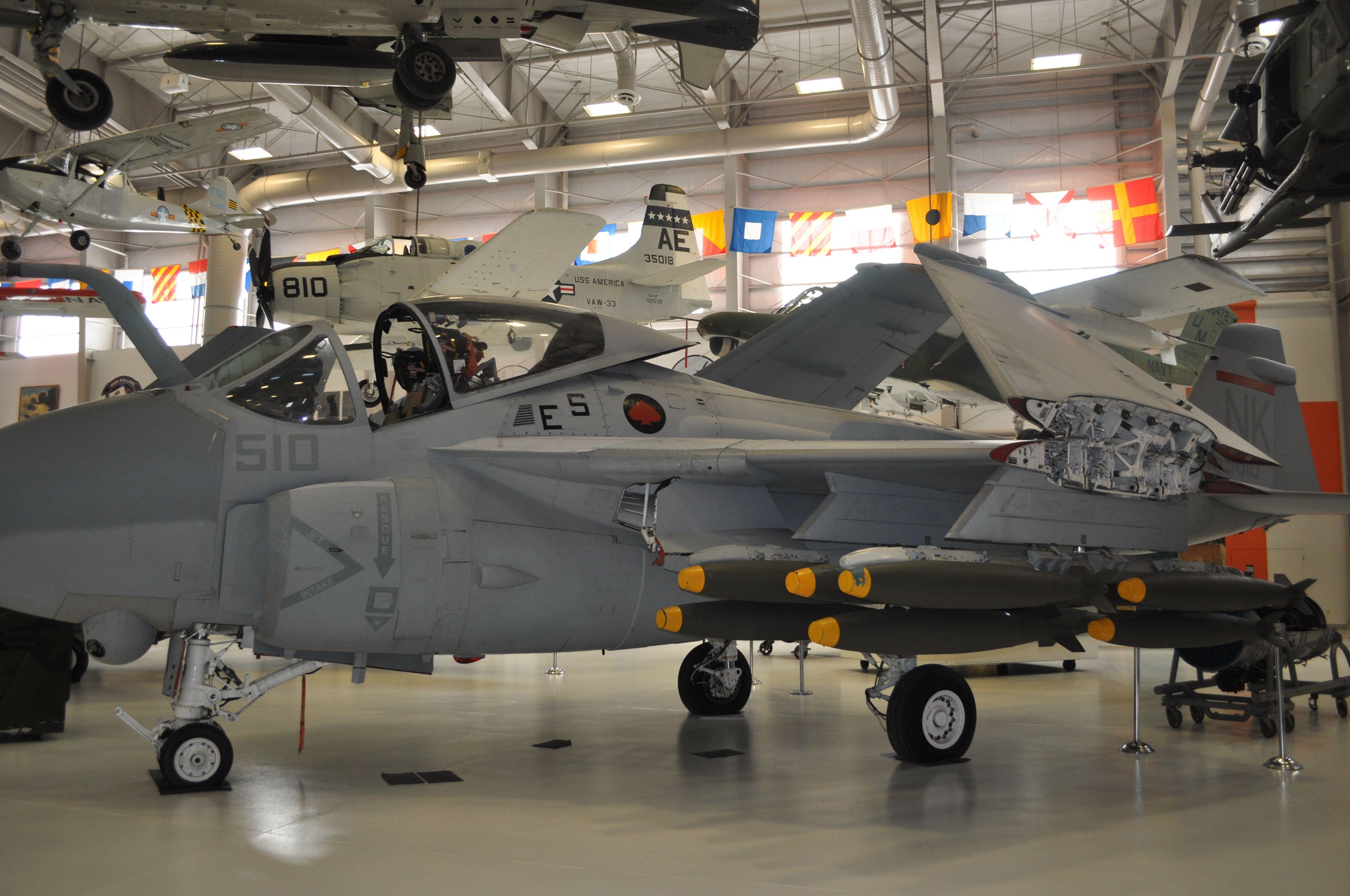 Pensacola Aviation Museum (254) A-6 Intruder