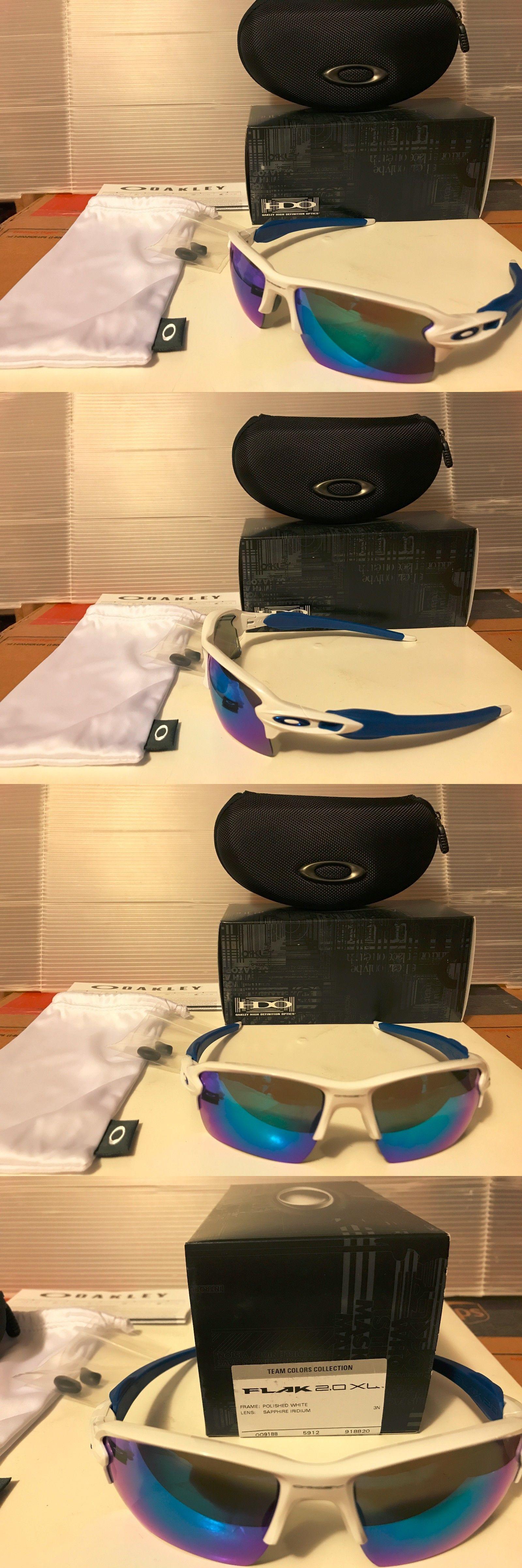 b96dc182a92 Sunglasses 151571  New Oakley - Flak 2.0 Xl Sunglasses Polished White  Sapphire Iridium