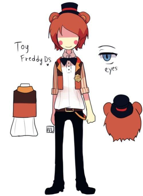 Toy Freddy Ds by Lulu999