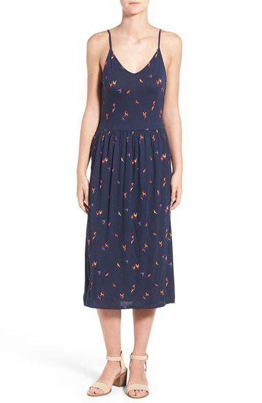 Hinge Hinge Print Midi Dress available at #Nordstrom