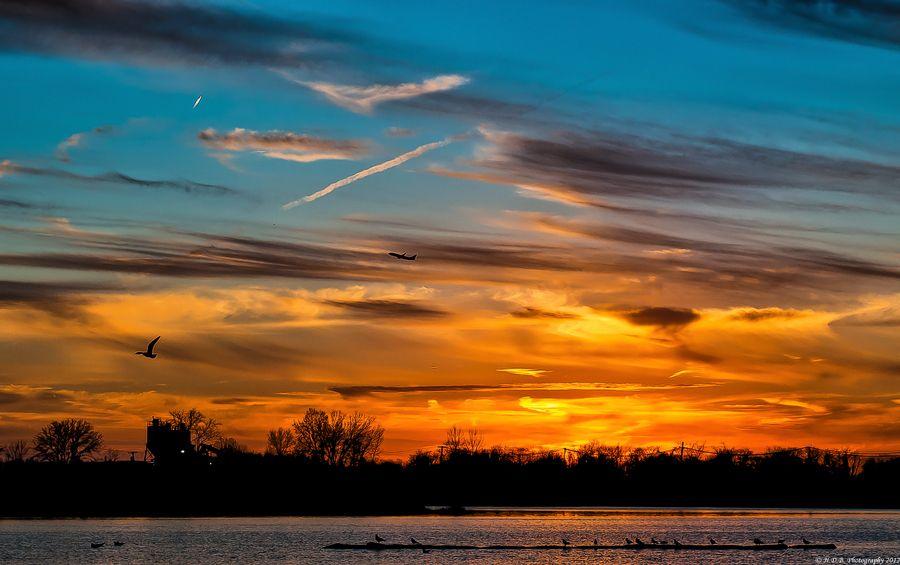 Perfect Sunset Landscape photography, Landscape