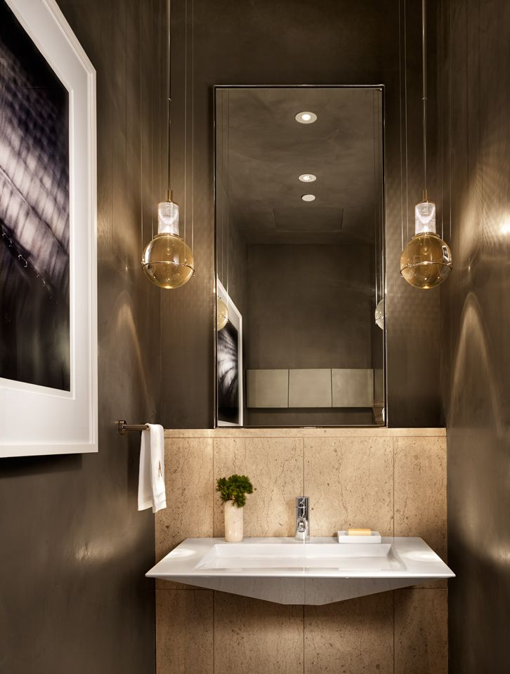 Emily Summers Design Associates Art District Condominium Decoracao Banheiro Banheiro Decoracao