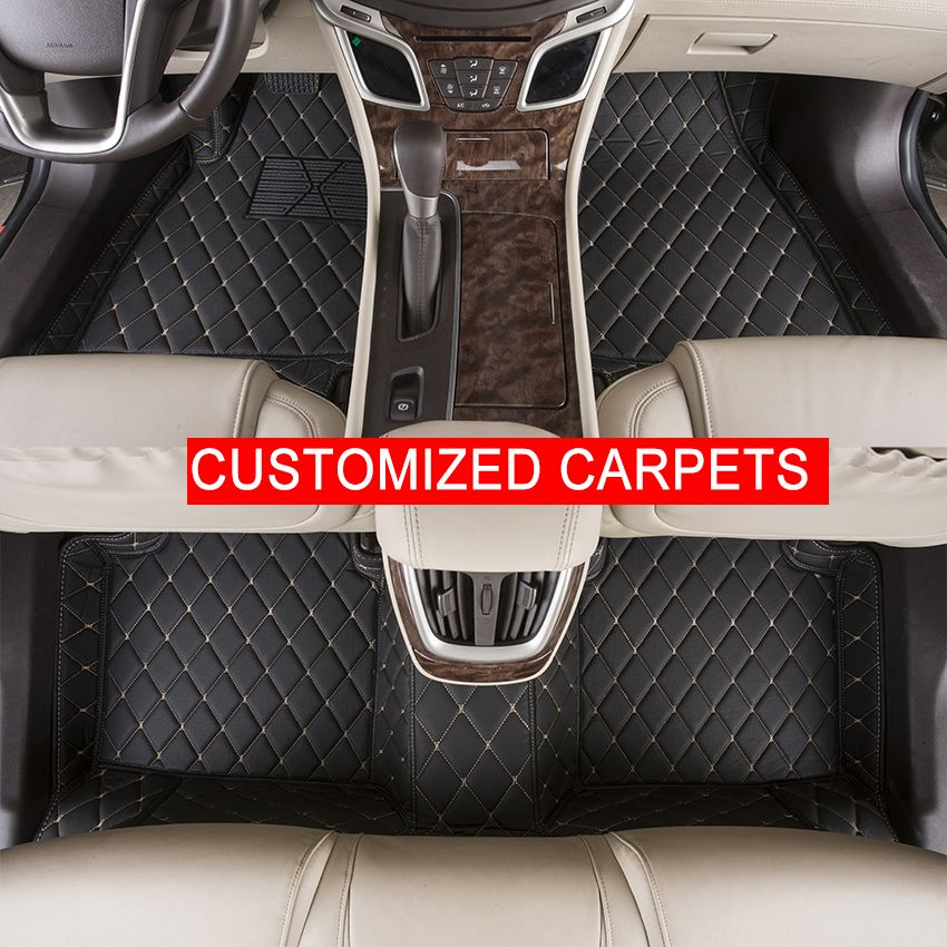 Custom Car Floor Mats Customized For Mercedes Benz Glk 350a160 A180