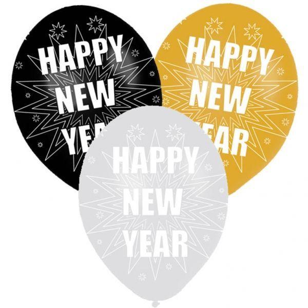 18++ Happy new year deko Sammlung