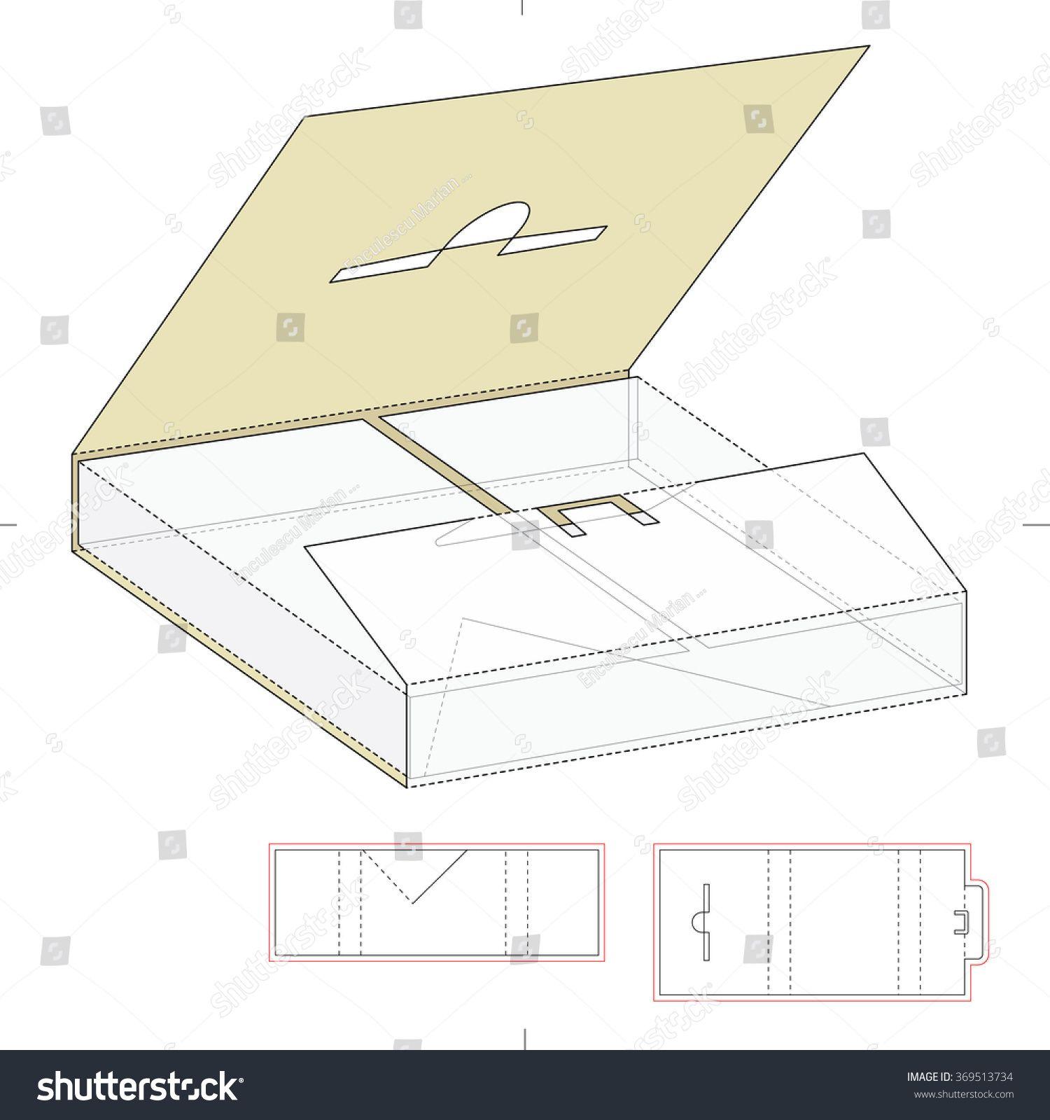 Afbeeldingsresultaat Voor Shipping Box Template