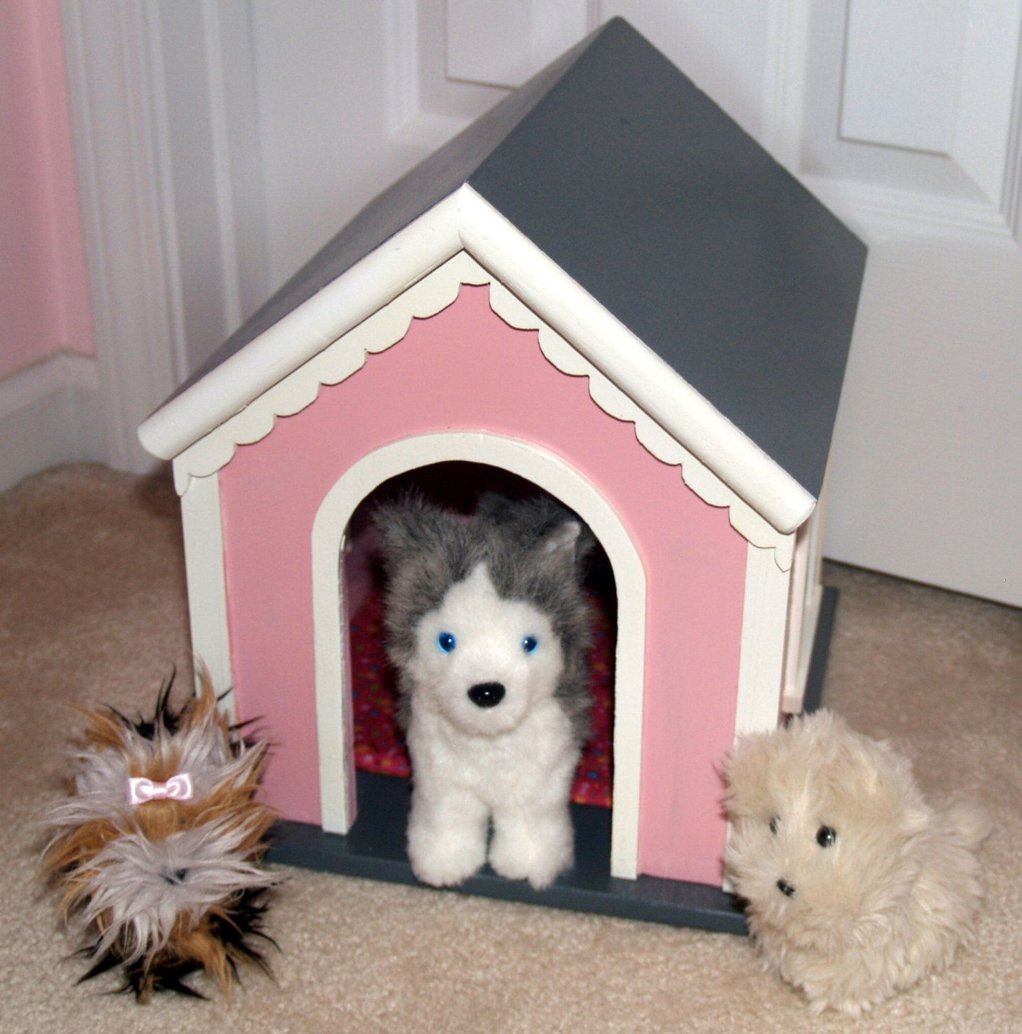 Dog House For American Girl Type Pets Or Stuffed Animals 59 00