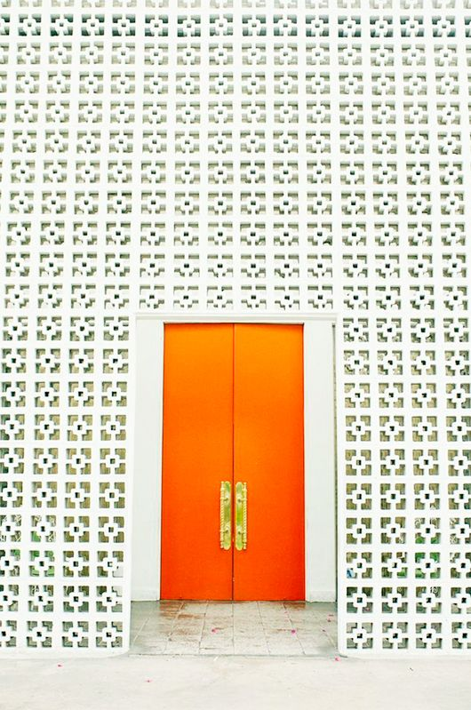 Orange door  sc 1 st  Pinterest & wear this there: the parker palm springs | Palm springs Palm and Spring