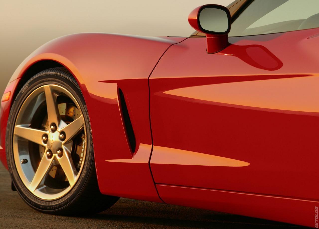 2005 Chevrolet Corvette Red Corvette Corvette Sports Car