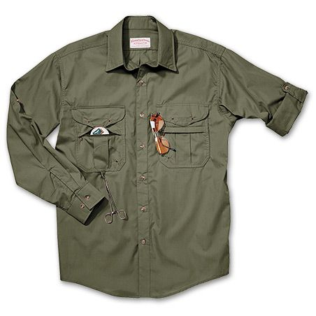 218bf145 Feather Cloth Long Sleeve Fly Fishing Shirt (s) $82 | For Fishing ...