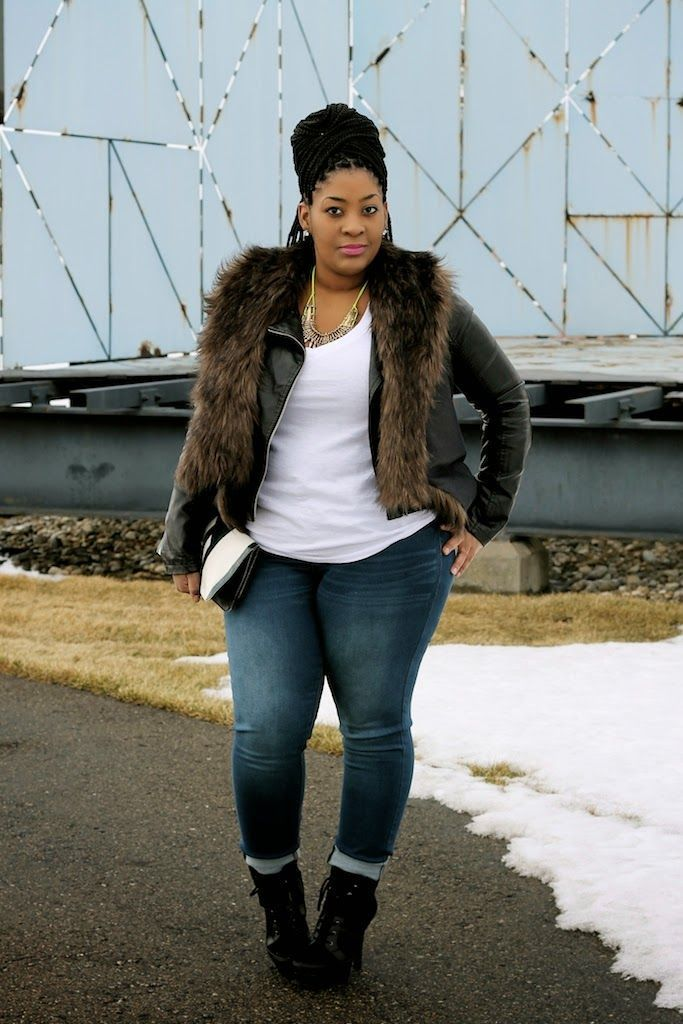 Plus Size Winter Outfits-14 Chic Winter style for Curvy Women Plus Size  Winter Outfits dd0332119