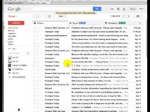 How to create multiple email addresses from one gmail