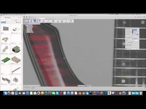 Modeling a Guitar in Fusion 360 with TSplines YouTube
