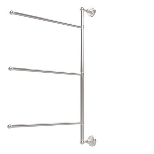 Dottingham Collection 3 Swing Arm Vertical 28 Inch Towel Bar, Polished Chrome - (In No Image Available)