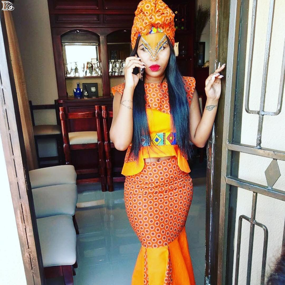 Shweshwe fashion designer dresses of south africa african