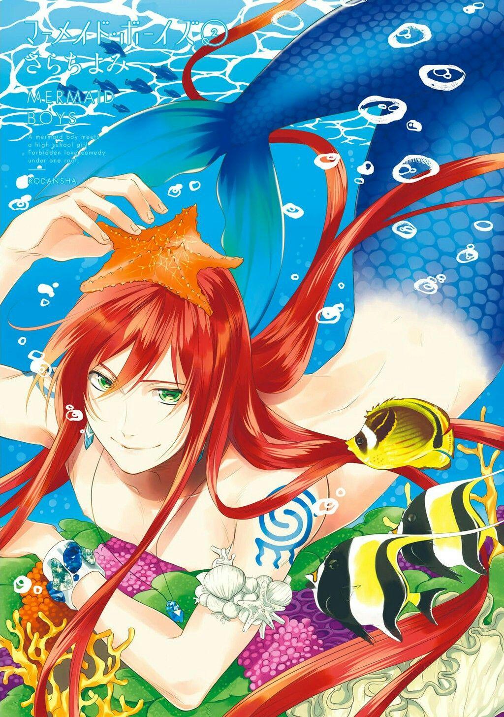 Mangá Mermaid boys Naru