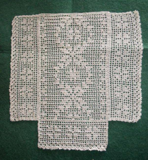 Mini Punto y Crochet: Colchas a punto de red | สิตา | Pinterest ...