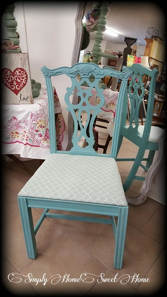 Antique Chair Painted in Provence ~ Sold