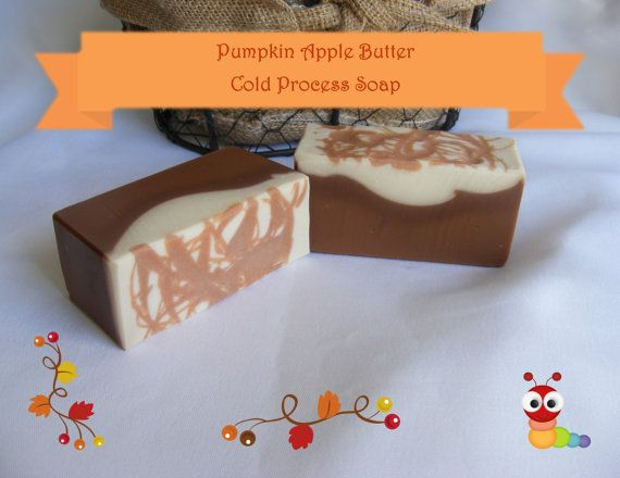 Pumpkin Apple Butter scented Cold Process by WindyWillowHomestead
