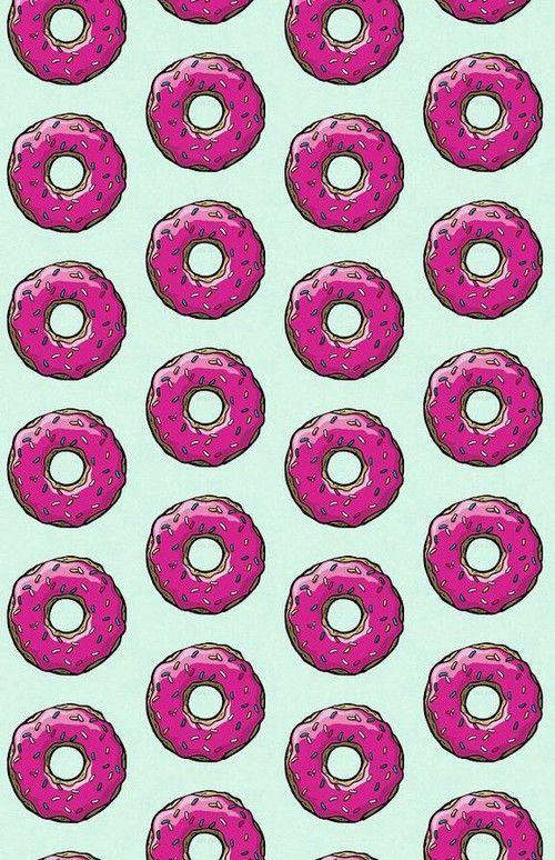 пончики фон картинки