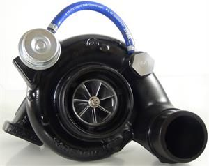 This Gillett Diesel turbo upgrades your stock turbo to a