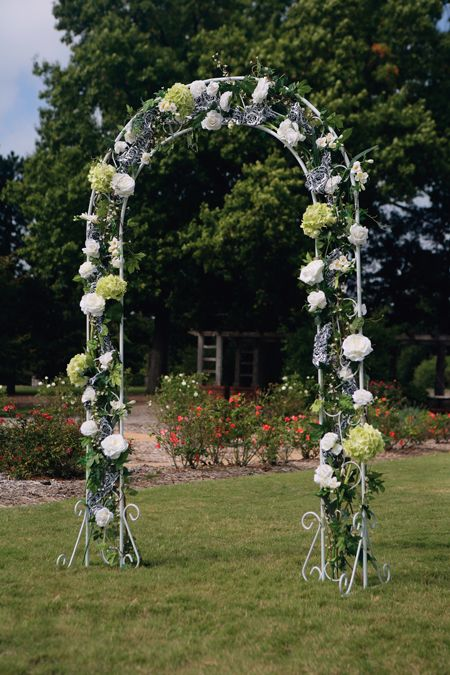Rentable Arch From Hobby Lobby 40 Add 10 For The Greenery And Bow