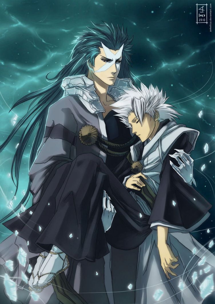 Haven't watched in years but LOVE this. Hyorinmaru and