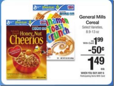 Walmart Price Match Deal Honey Nut Cheerios Just 24 A